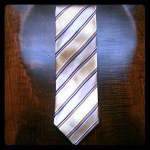 Ermenegildo Zegna Silk Necktie 59/60  x 3.5 Inches